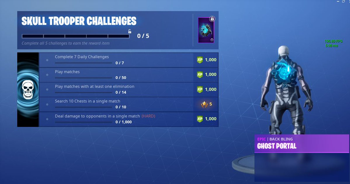 Skull Trooper Challenges