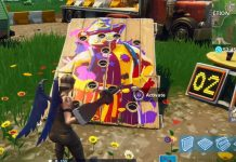Carnival Clown Board Locations in Fortnite