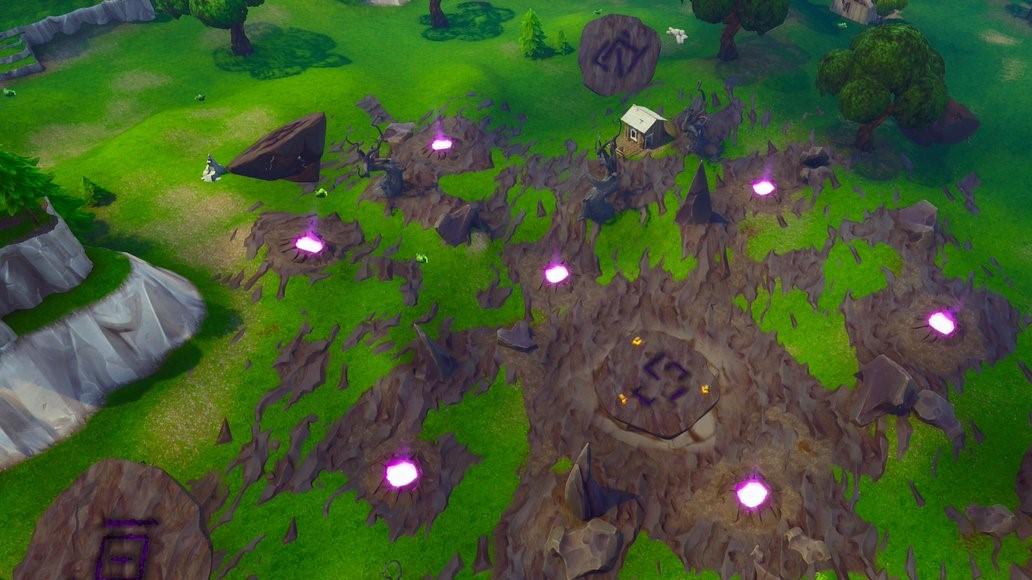 Corrupted Areas Fortnite map changes