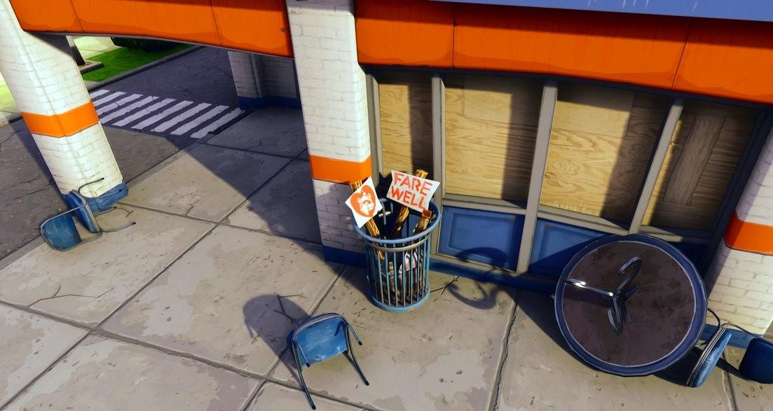 Durrr Burger Shop Closed Down Fortnite