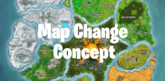 Fortnite Map Change Concept