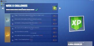 Fortnite Season 6, Week 8 Leaked Challenges