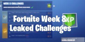 Fortnite Season 6 week 8 leaked challenges