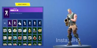 Fortnite leaked emotes and 3d skins in game