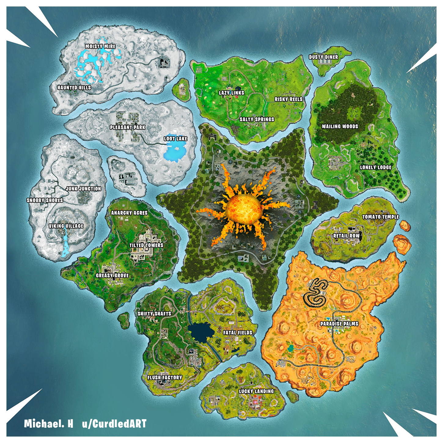 Fortnite map concept
