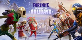 Fortnite Survive The Holidays 2017