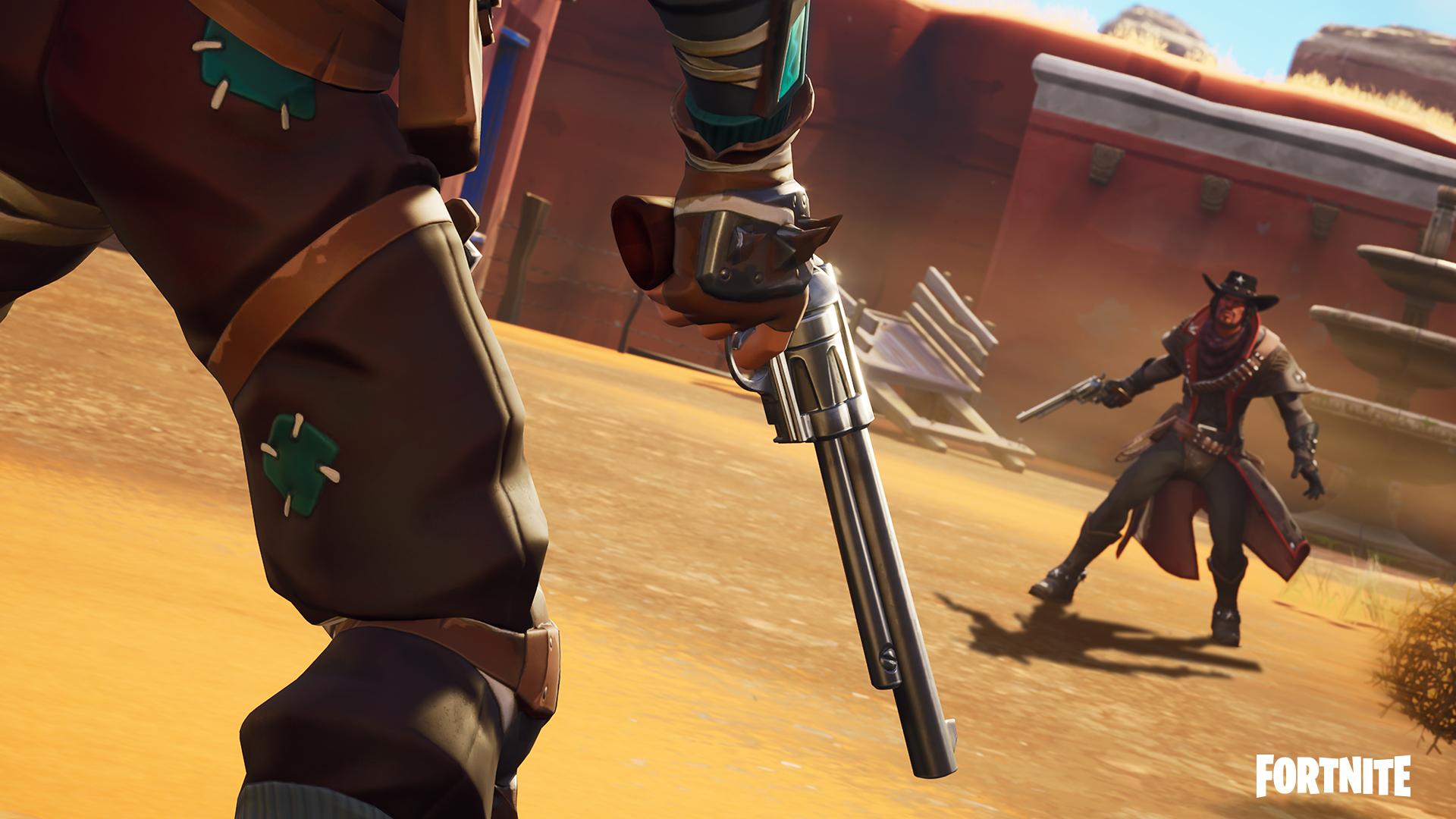 Fortnite LTM Loading Screen - Wild West