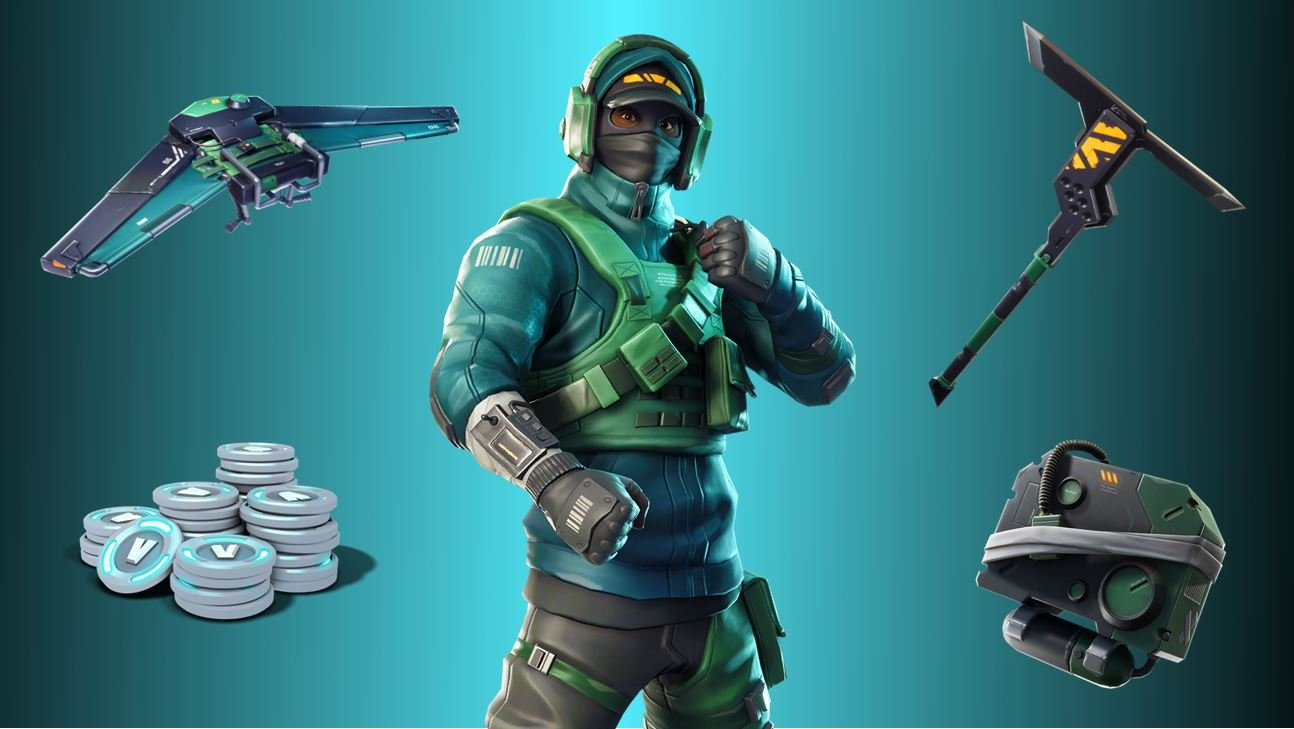 Geforce & Fortnite Collaboration - Counterattack Bundle