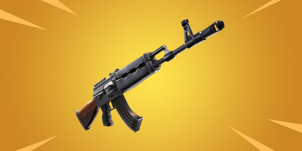 Heavy Assault Rifle Fortnite