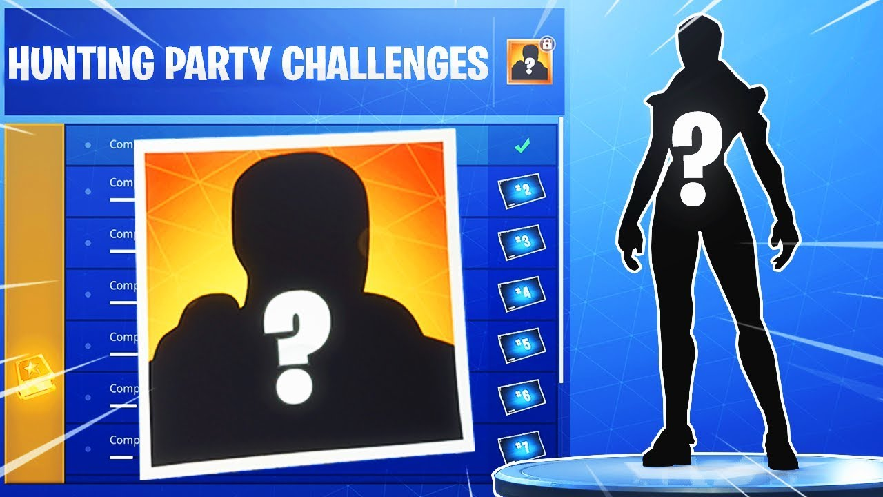 TheHunting Party Skin Has Been Leaked | Fortnite Insider