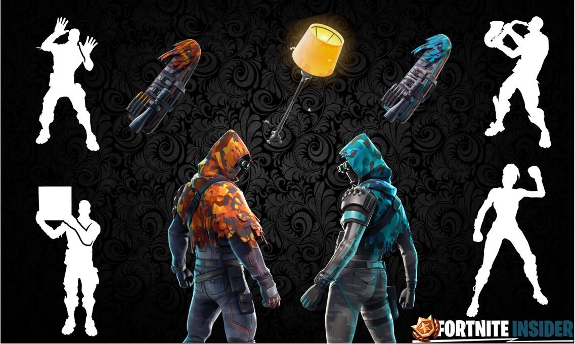 Leaked Fortnite Skins v6.31