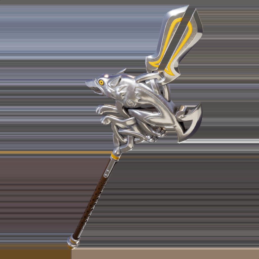 Silver Fang Pickaxe