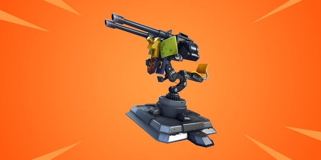 Fortnite Item - Mounted Turret