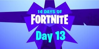 14 Days of Fortnite - Day 13