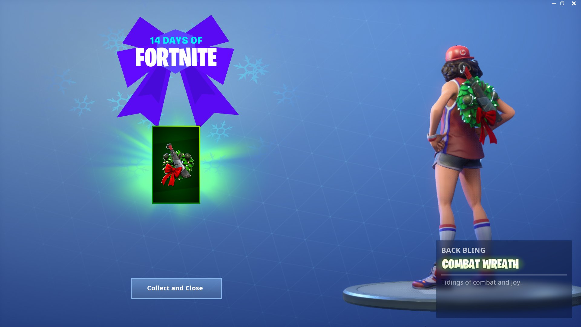 14 Days of Fortnite Reward - Day 5