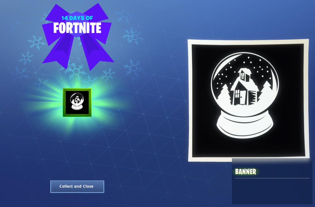 14 Days of Fortnite Reward - Day 9