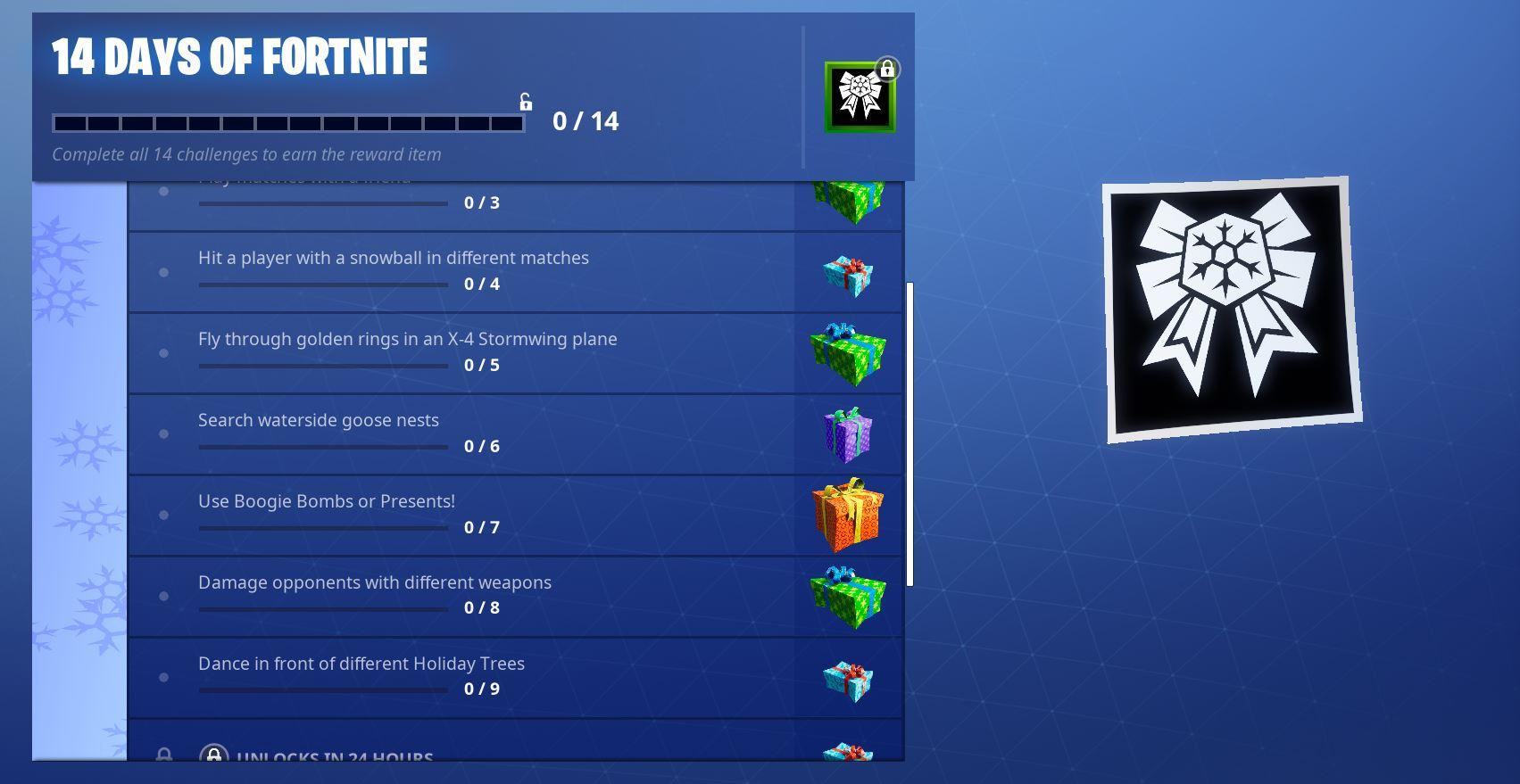 14 days of Fortnite Challenge Day 9