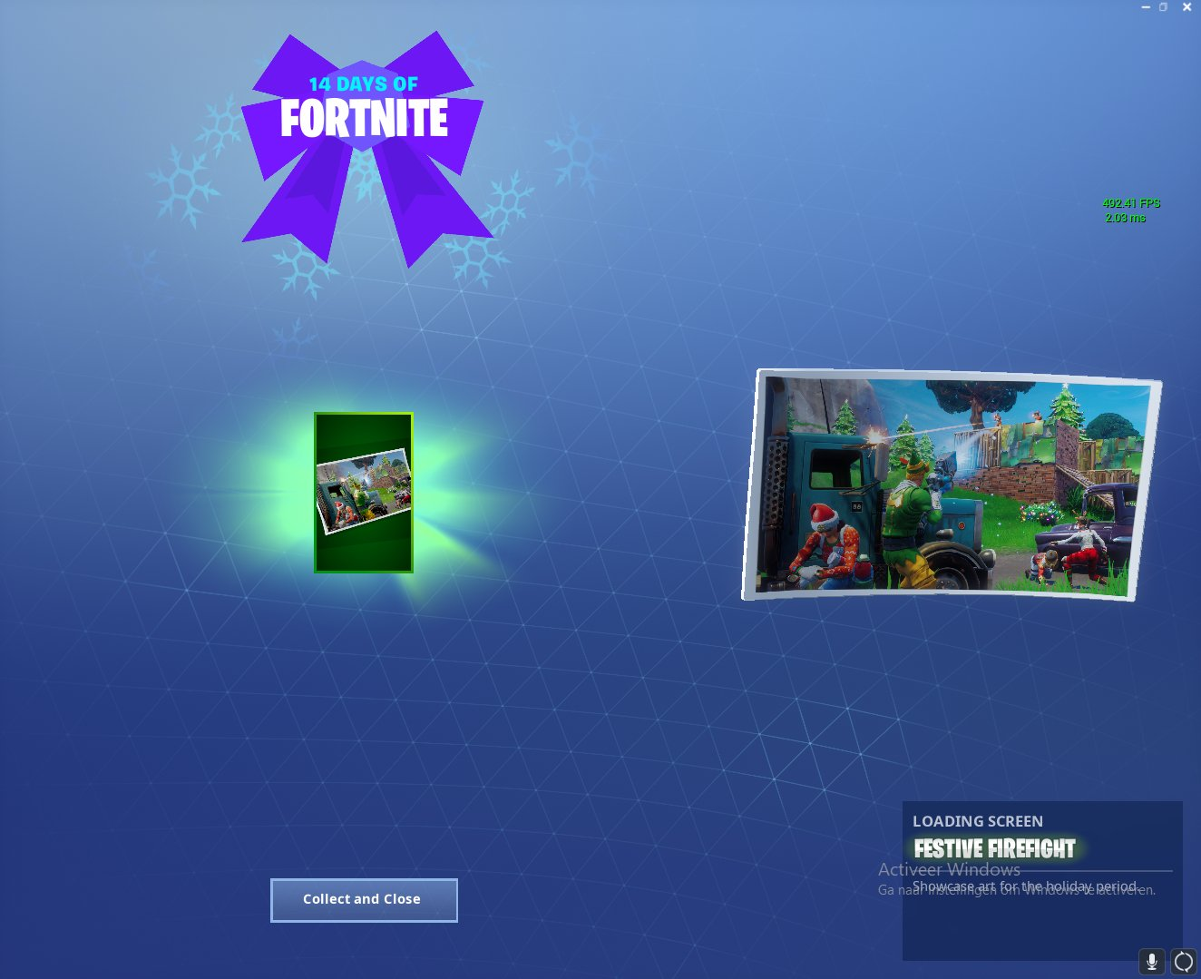 14 days of Fortnite Challenges Day 2 Reward