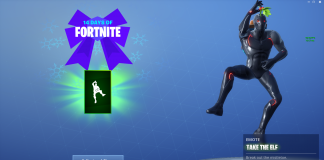 14 days of Fortnite Day 8 Reward - Take the Elf