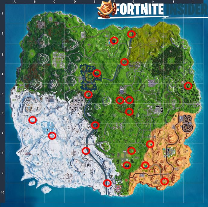 14 days of Fortnite Search Waterside Goose Nest Locations