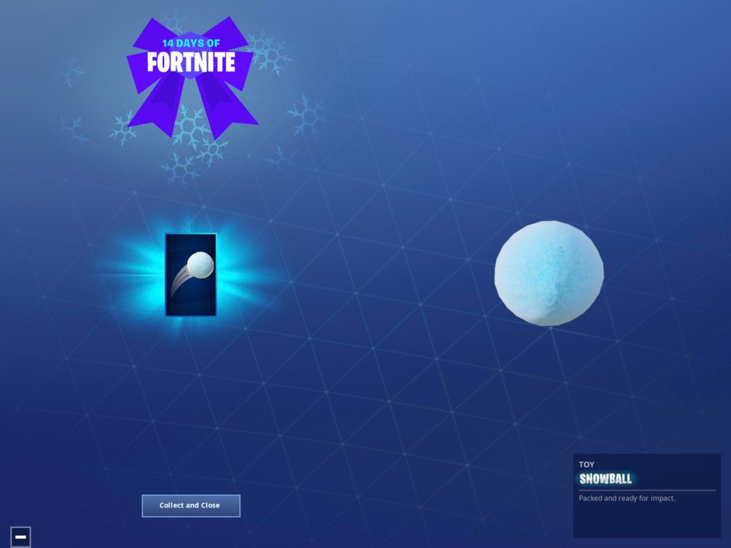 14 days of Fortnite day 3 reward