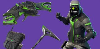 Archetype in the Fortnite Item Shop