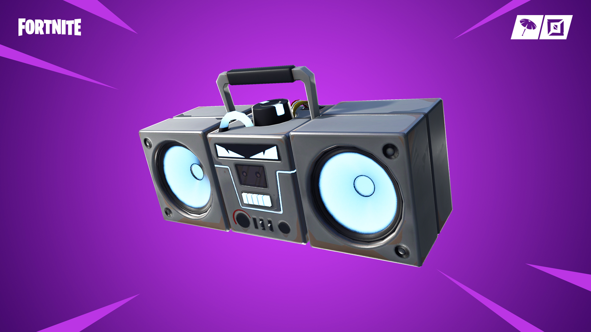 Fortnite New Item Boom Box