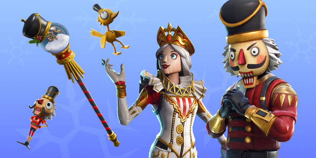 Fortnite Item Shop 20th December Crackshot Crackabella Christmas