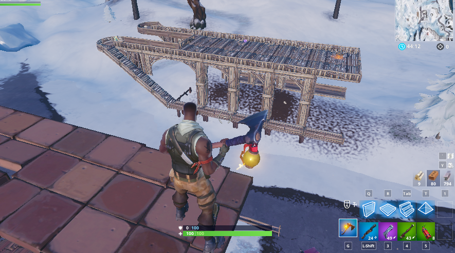 Fortnite Big Sled