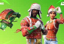 Fortnite Chirstmas Themed Skins Available in the item shop