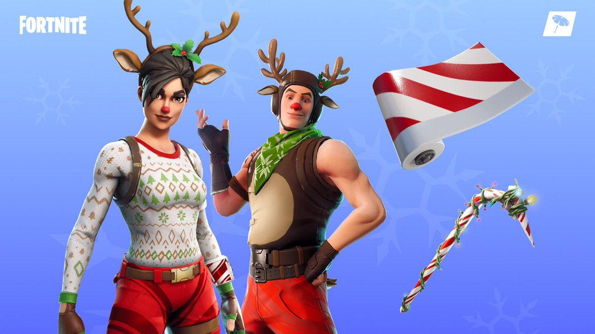Fortnite Christmas Skins 19th December Fortnite Item Shop