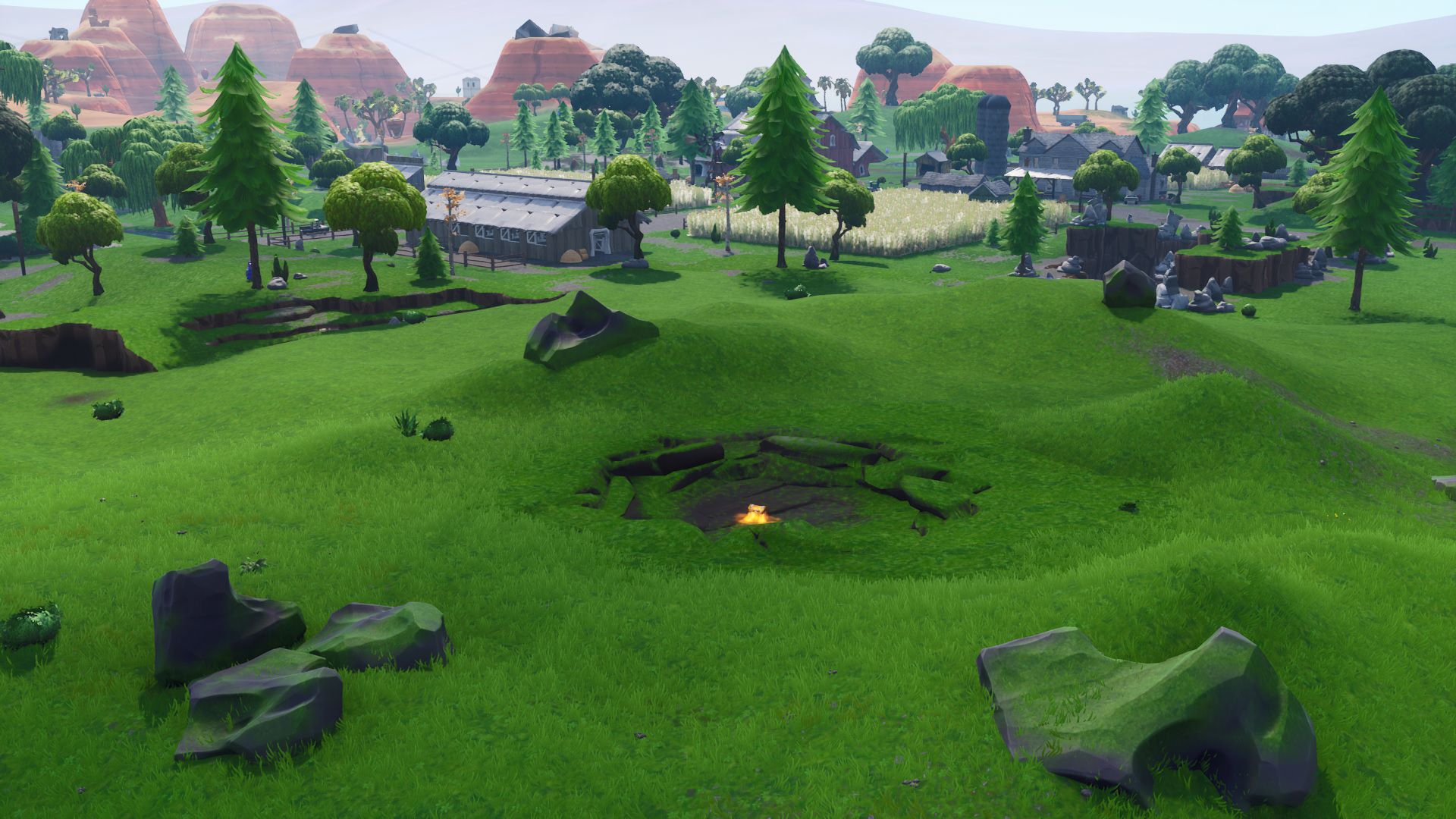 Fortnite Corrupted Areas Grass