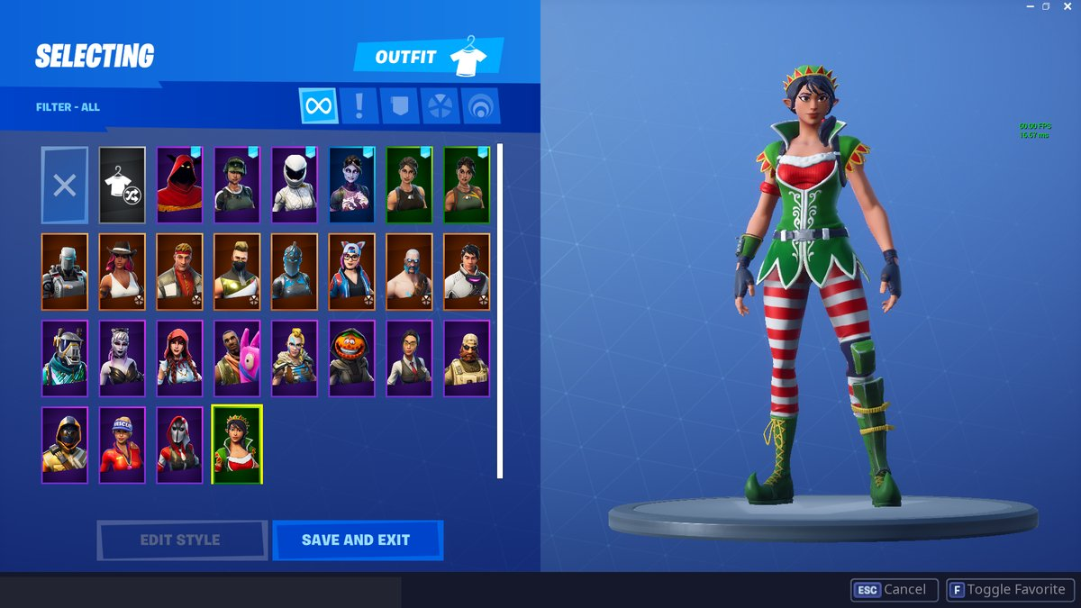 Fortnite Elf Skin Leaked