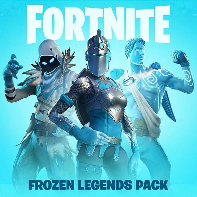 Fortnite Frozen Legends Pack Now Available