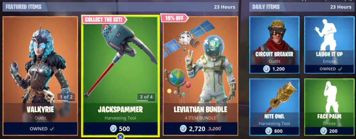 Fortnite Item Shop Featured And Daily Items Today Fortnite Gift