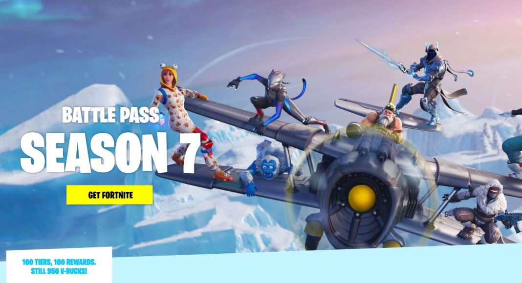 Fortnite Season 7 All Battle Pass items cosmetics and skins