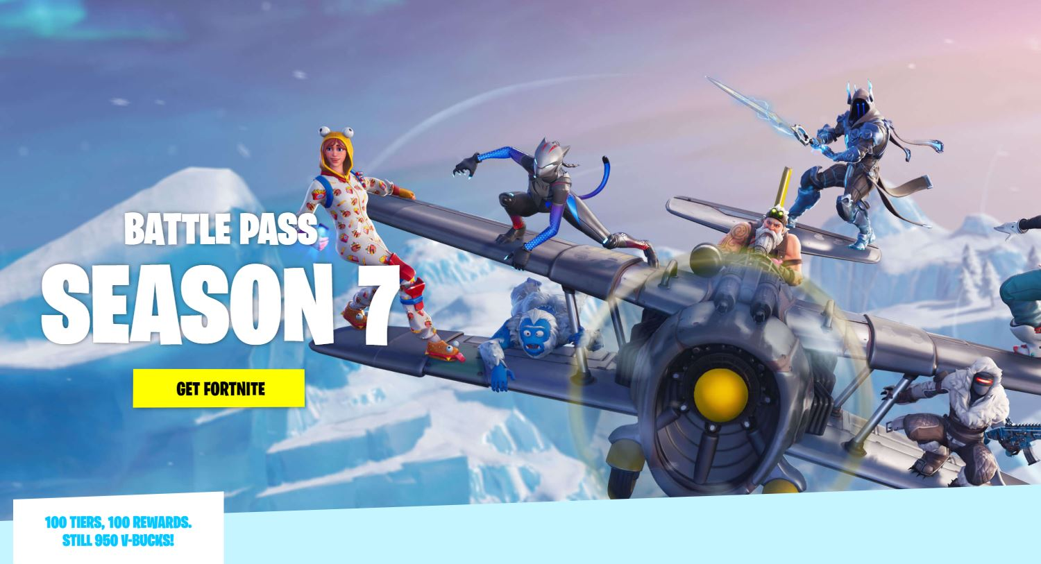 fortnite season 7 all battle pass items cosmetics and skins - fortnite saison 7