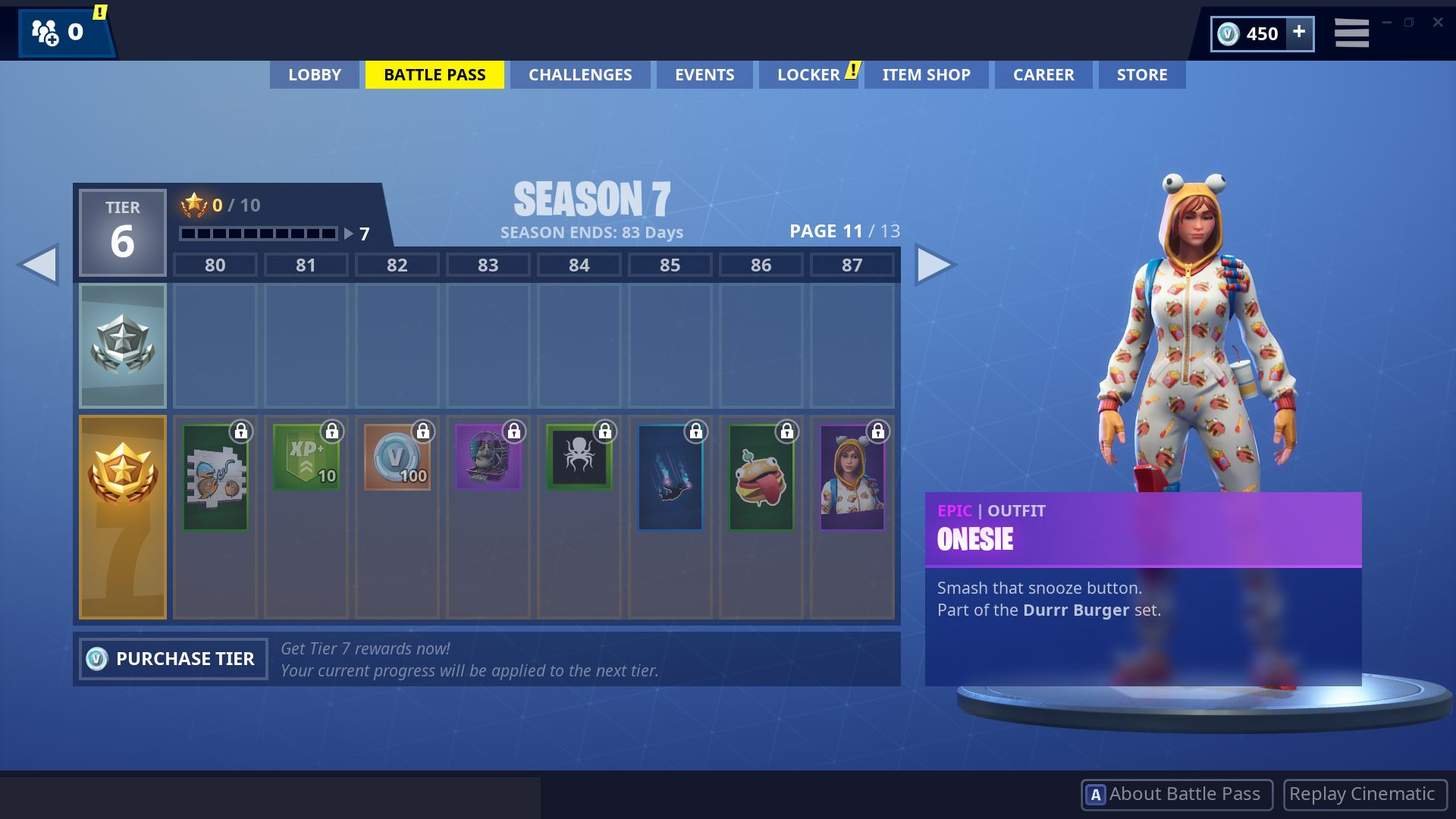 Fortnite Season 7 Battle Pass Page 11