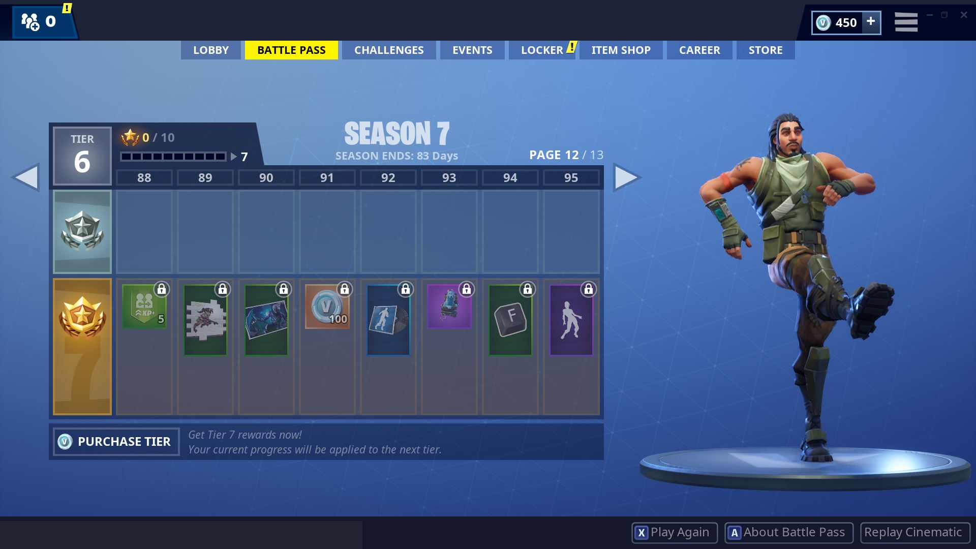 Fortnite Season 7 Battle Pass Page 12