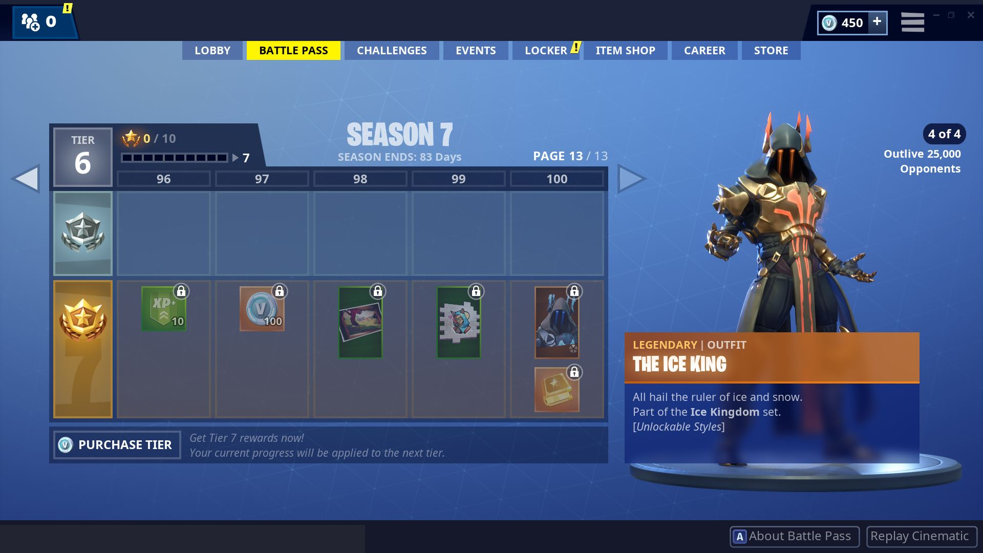 Fortnite Season 7 Battle Pass Page 13