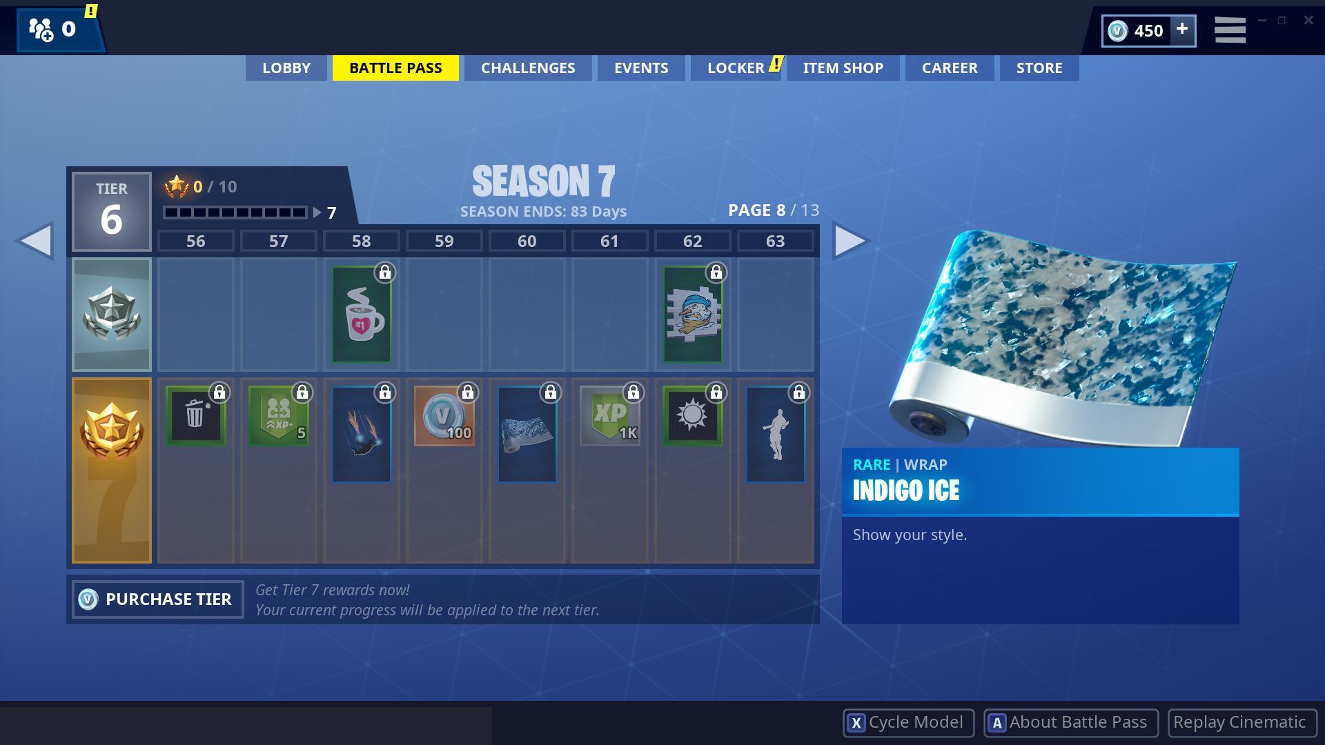 Fortnite Season 7 Battle Pass Page 8
