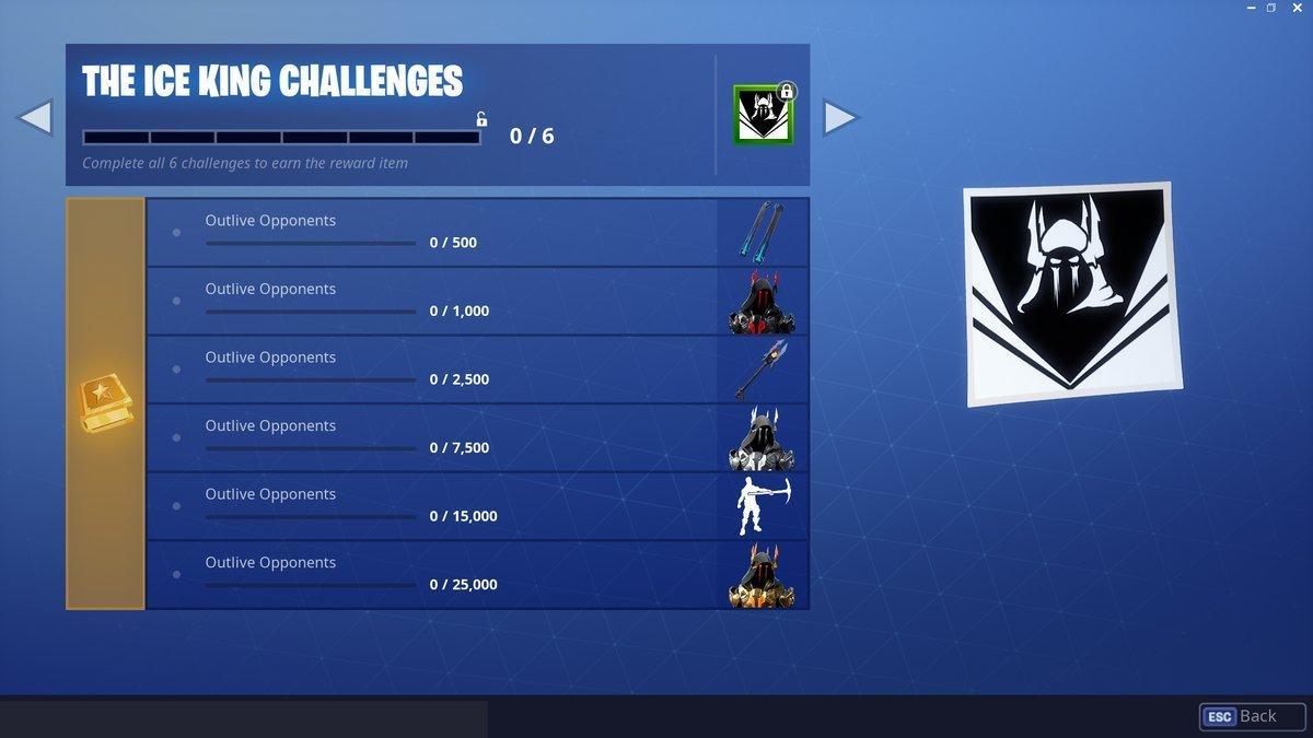 Fortnite Season 7 - Ice King Challenges