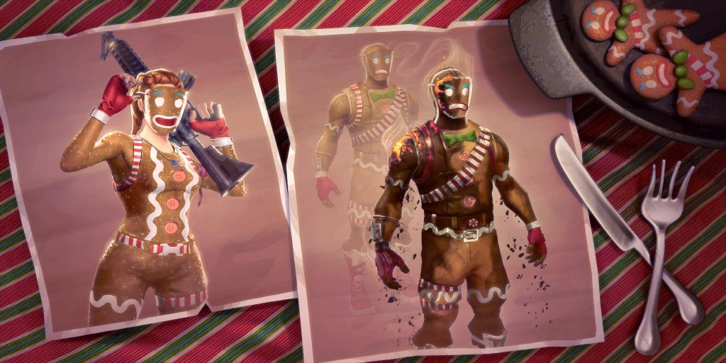 Fortnite Season 7 Loading Screen - Merry Marauder