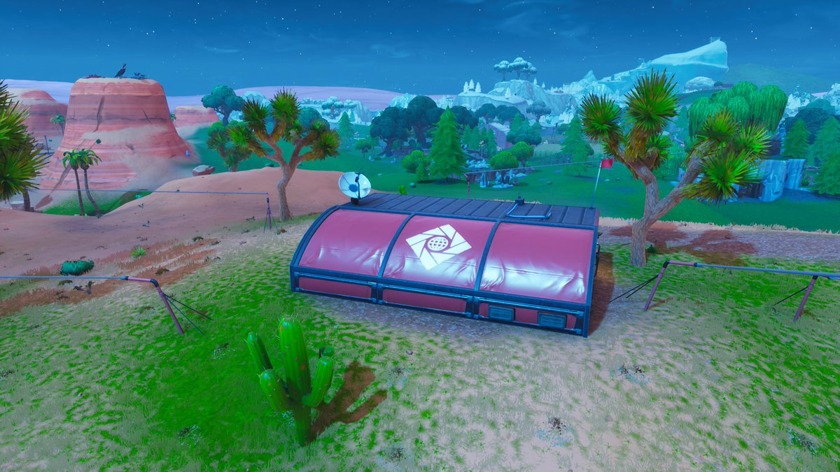 Fortnite Season 7 Map Changes - A.I.M Outposts