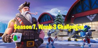 Fortnite Season 7 Week 3 Challenges