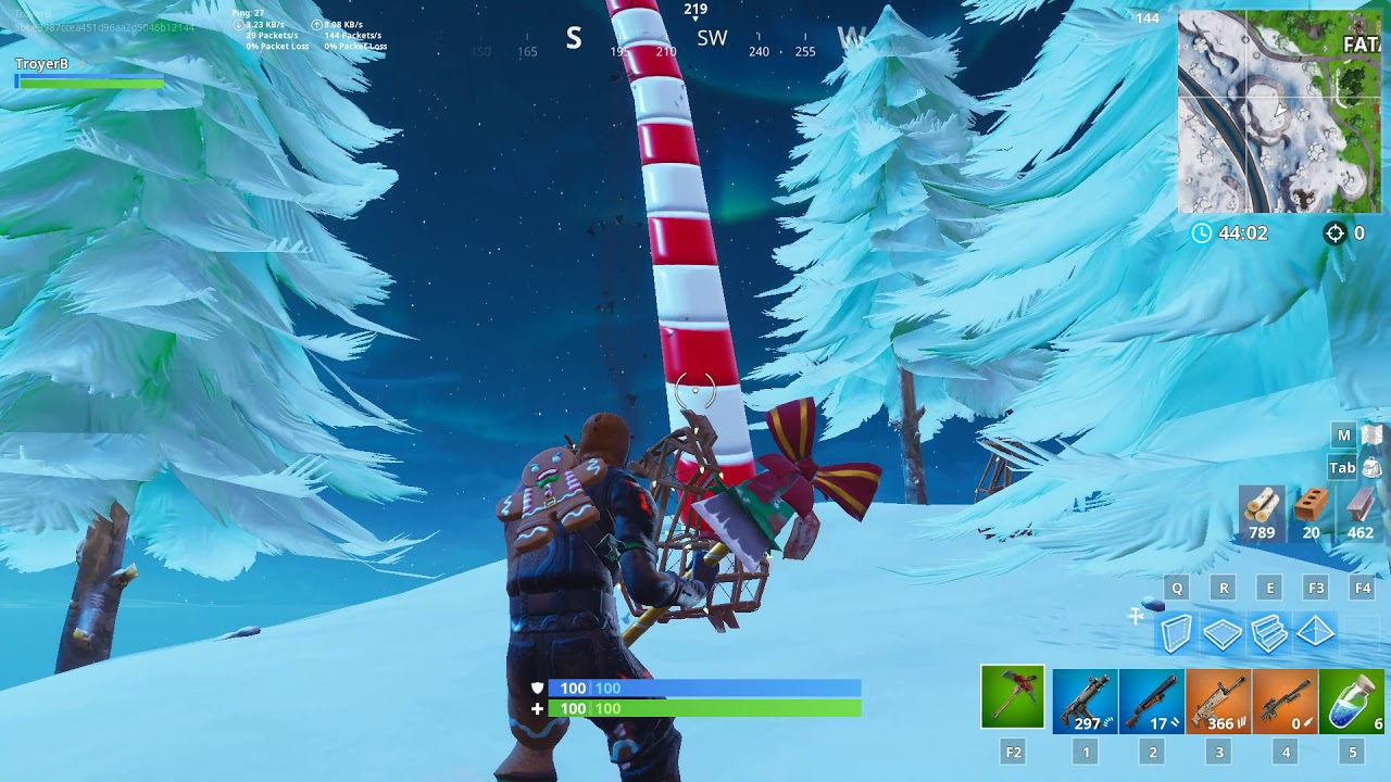 'Fortnite' Giant Candy Cane Locations 14 Days of Fortnite Challenge Guide