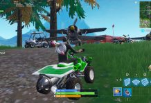 HUD Health Bar for Fortnite Vehicles