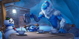 Fortnite Snowfall Loading Screen Week 5