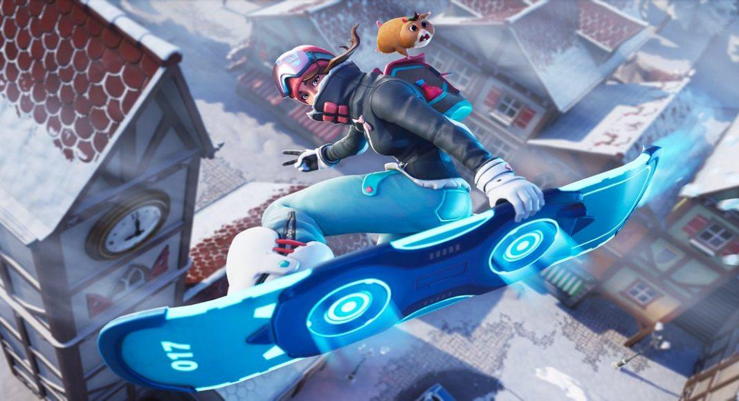 Fortnite Snowfall Loading Screen Week 4