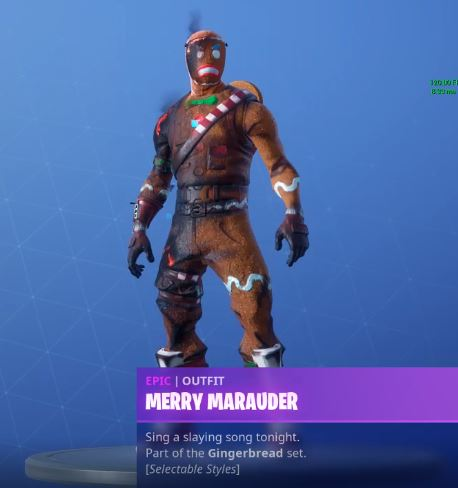 Merry Marauder Burnt Frown